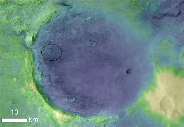 Rainfall and Snowmelt from Storms May Have Filled Lakes, Rivers on Ancient Mars
