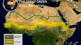 Africa's Great Green Wall:  4 % Targets Completed until 2030 Deadline