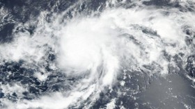Tropical Depression Turns into Tropical Storm named Paulette
