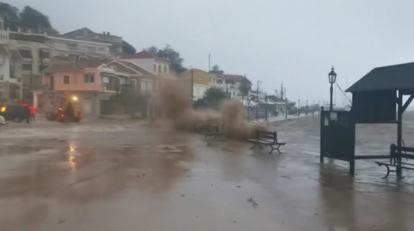 Mediterranean hurricane, Medicane, Greece, Ianos