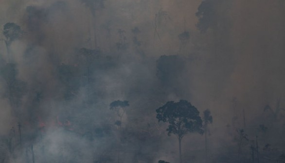 Record Breaking Fires and Drought Ravage South America