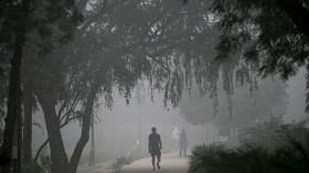 The Countryside Areas of India Suffer from Heavy Air Pollution, Particularly PM2.5