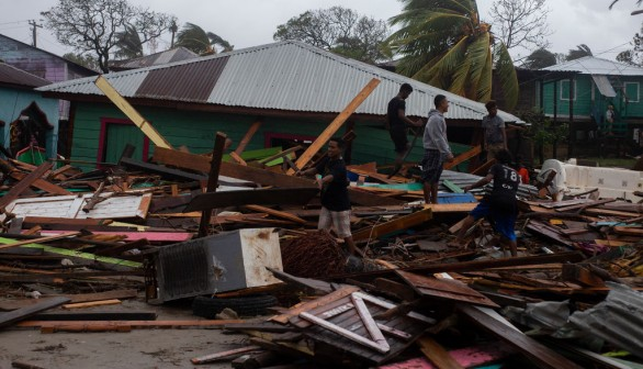 Hurricane Iota  Brings Death and Devastation Across Central America