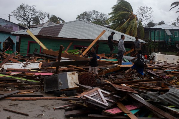 Hurricane Iota  Brings Death and Devastation Across Central America