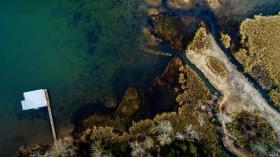 An Aerial View of Guntersville, Alabama
