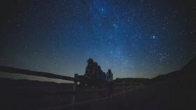 Peak of Meteor Shower Geminids Shooting Stars Nearing