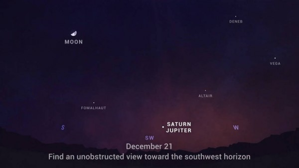 'Great Conjunction': Jupiter, Saturn to Meet 0.1 Degrees Closest to Each Other