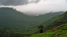 village in Western Ghats, India