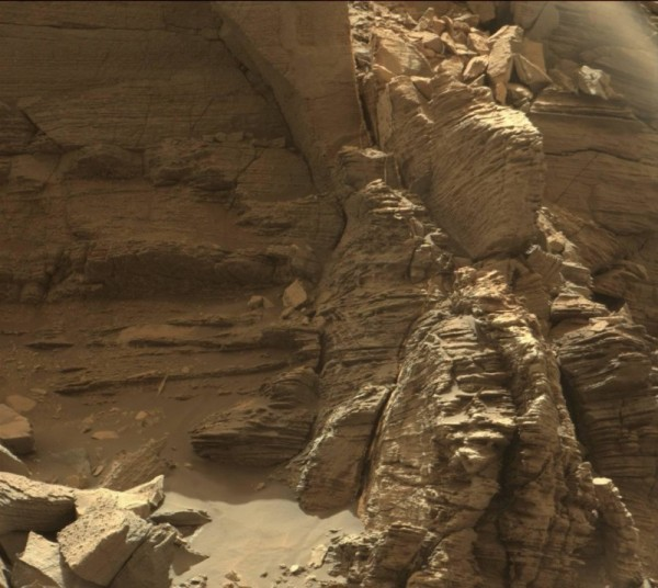 Buttes on Mars