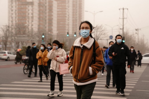 Beijing Is Attacked By A Terrible Sandstorm