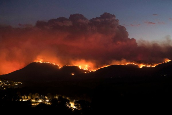 State Of Emergency Declared In ACT As Canberra Braces For Increased Bushfire Threat