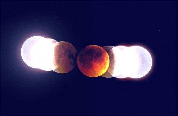The shadow at lunar eclipse.j