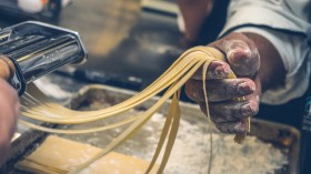 Italian Spaghetti Pasta Fresh