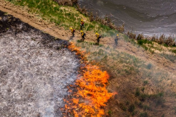 Volunteer Firefighters Train To Fight Wildfires In Washington State