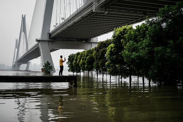Flooded Yangtze River