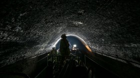 The 4million Bricks That Make Up London's Longest Canal Tunnel Are Inspected Today