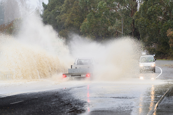 Effect of heavy rain