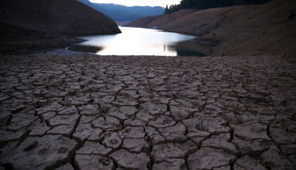 Drought Severely Affects Shasta Lake's Water Level