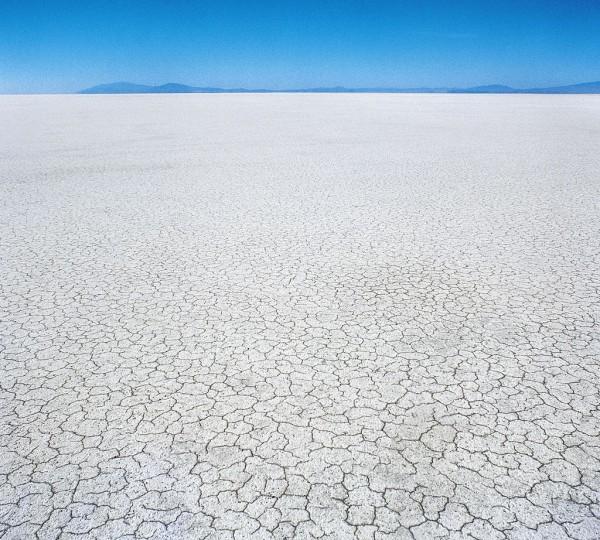 The vast desert of the Great Salt Lake