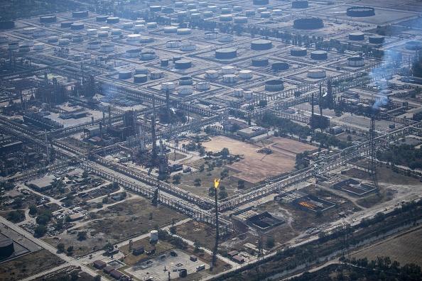 Pemex oil complex