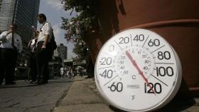 Heat Wave Grips New York