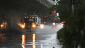 Tropical Storm Elsa Brings Heavy Rain And Flooding To New York