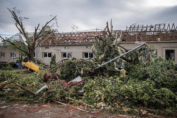 Effect of tornado