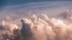 Huge clouds