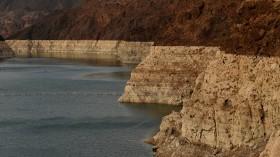 Water shortage at lake mead reservoir
