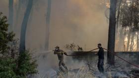 Fire in Greece