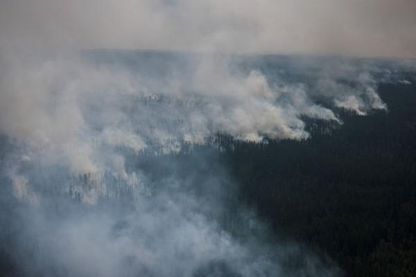 Siberia Fire Smoke