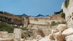 Archeology Site in Jerusalem