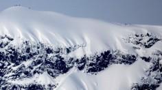 Kebnekaise mountain range in northern Sweden.