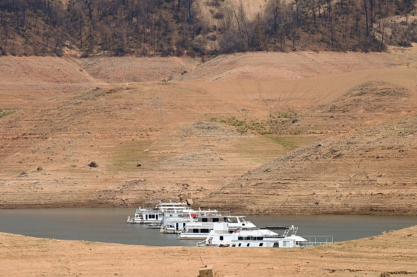 Drought leads to water shortage at reservoir