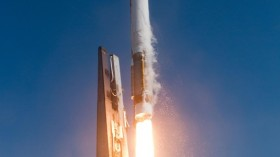 Atlas V rocket launch from Cape Canaveral Air Force Station, May 22, 2014