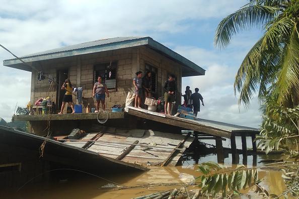 Effect of typhoon
