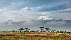 Kilimanjaro from Amboseli National Park, Kenya