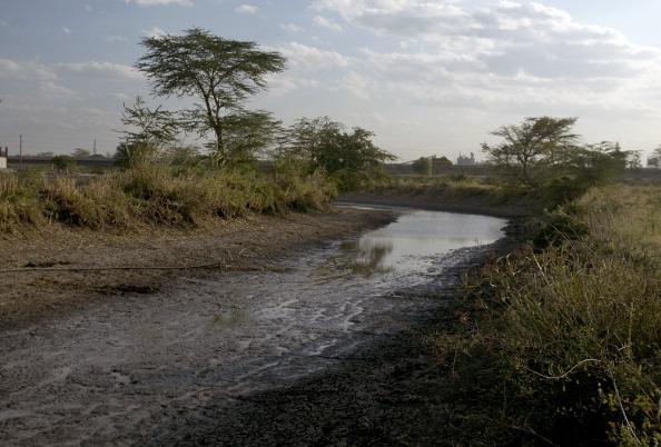 Drought at Athi River
