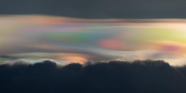 Strange atmospheric effect