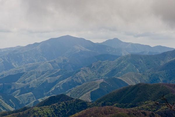 Mt.Gozen and Mt.Otake