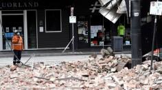 AUSTRALIA-EARTHQUAKE
