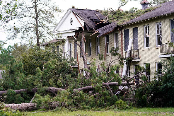 Effect of hurricane