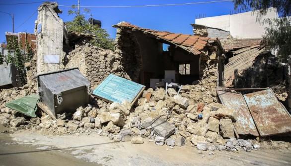 TOPSHOT-GREECE-EARTHQUAKE