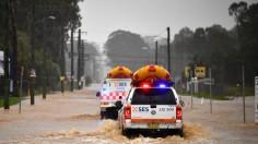 TOPSHOT-AUSTRALIA-WEATHER-FLOOD