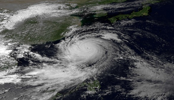 Super Typhoon Usagi Moves Through Luzon Strait