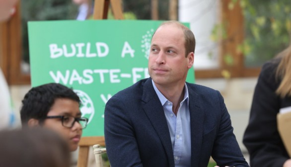 The Duke And Duchess Of Cambridge Take Part In A Generation Earthshot Event At Kew Gardens