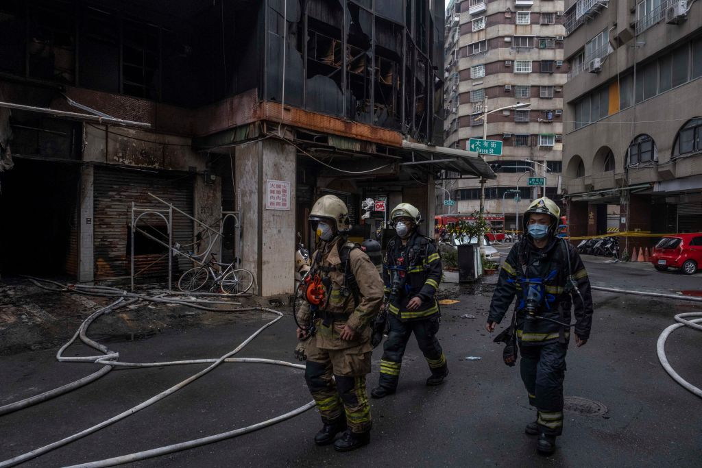 Devastating Fire Leaves 14 People Dead and 51 Injured in Taiwan High Building