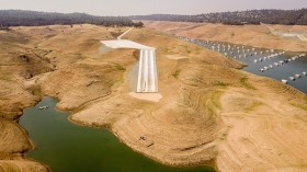 Drought in U.S. lake