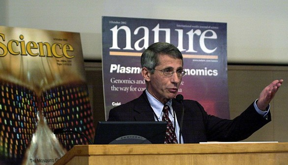 Director of the National Institutes of Allergy and Infectious Diseases Dr. Anthony Fauci