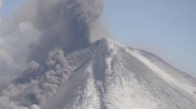 Pavlov Volcano, 2014